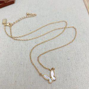 Kate Spade Butterfly Pendant Necklace